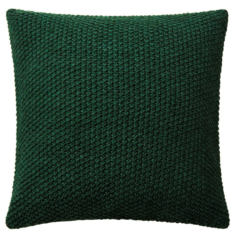 housse de coussin verte h m home coussin nos 40 mod les chouchous pour l 39 hiver journal des. Black Bedroom Furniture Sets. Home Design Ideas