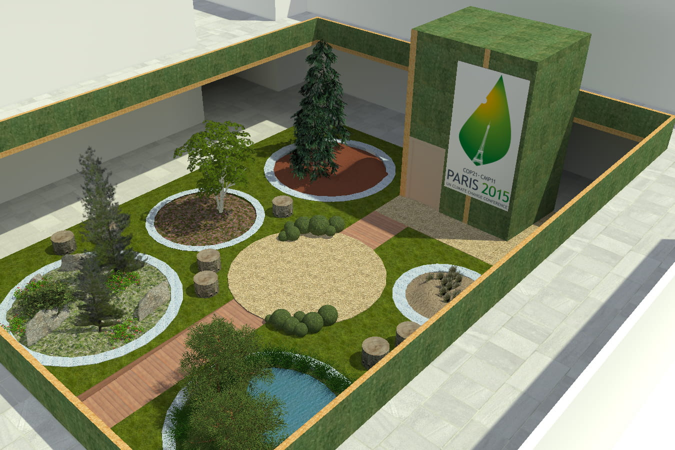 Jardin D 39 Espoir Un Espace Vert 100 Cologique Journal