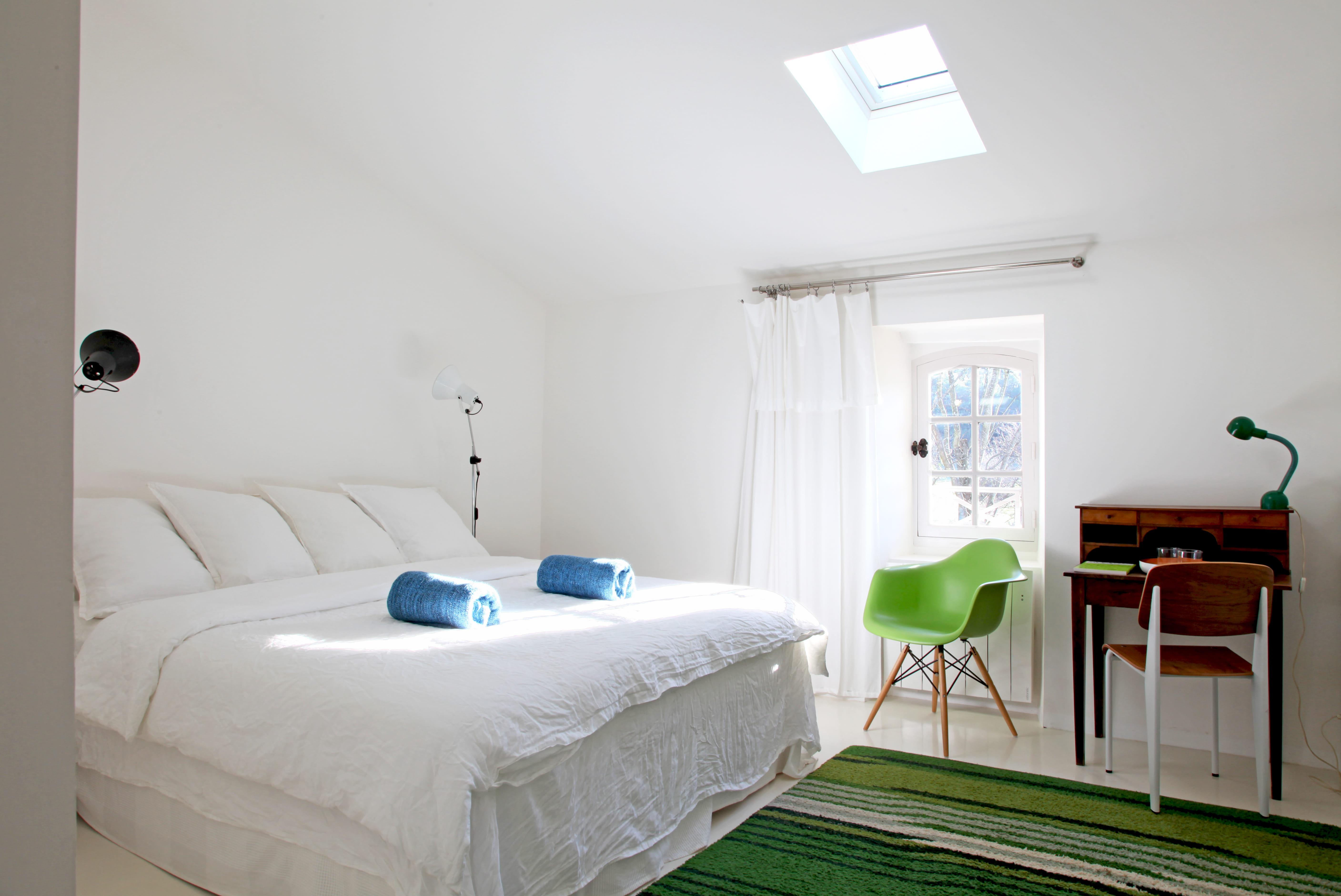 Chambre vert pomme et rose ~ Design de maison