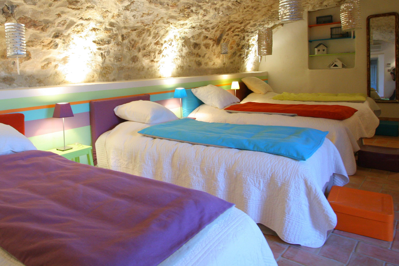 Une chambre dortoir color e - Chambre coloree ...