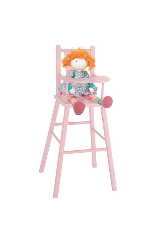 Chaise haute pour poup e de moulin roty 20 jouets en bois pour petits et grands journal des - Table et chaise moulin roty ...