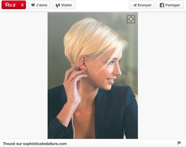 Court plongeant : 20 coupes courtes qui donnent envie d'oser - Journal des Femmes
