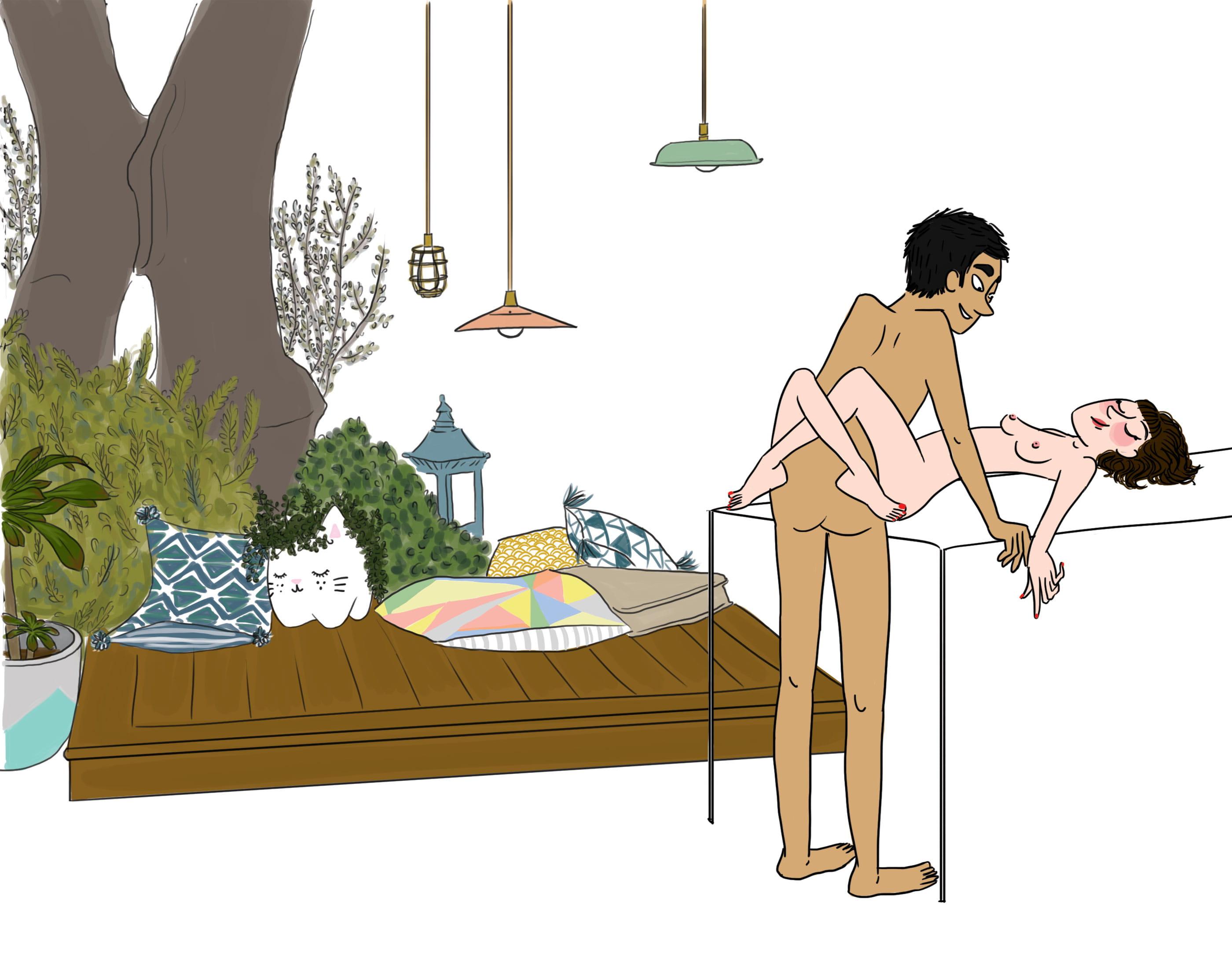 Histoire erotique : BIEN BAISEE SUR LA TABLE