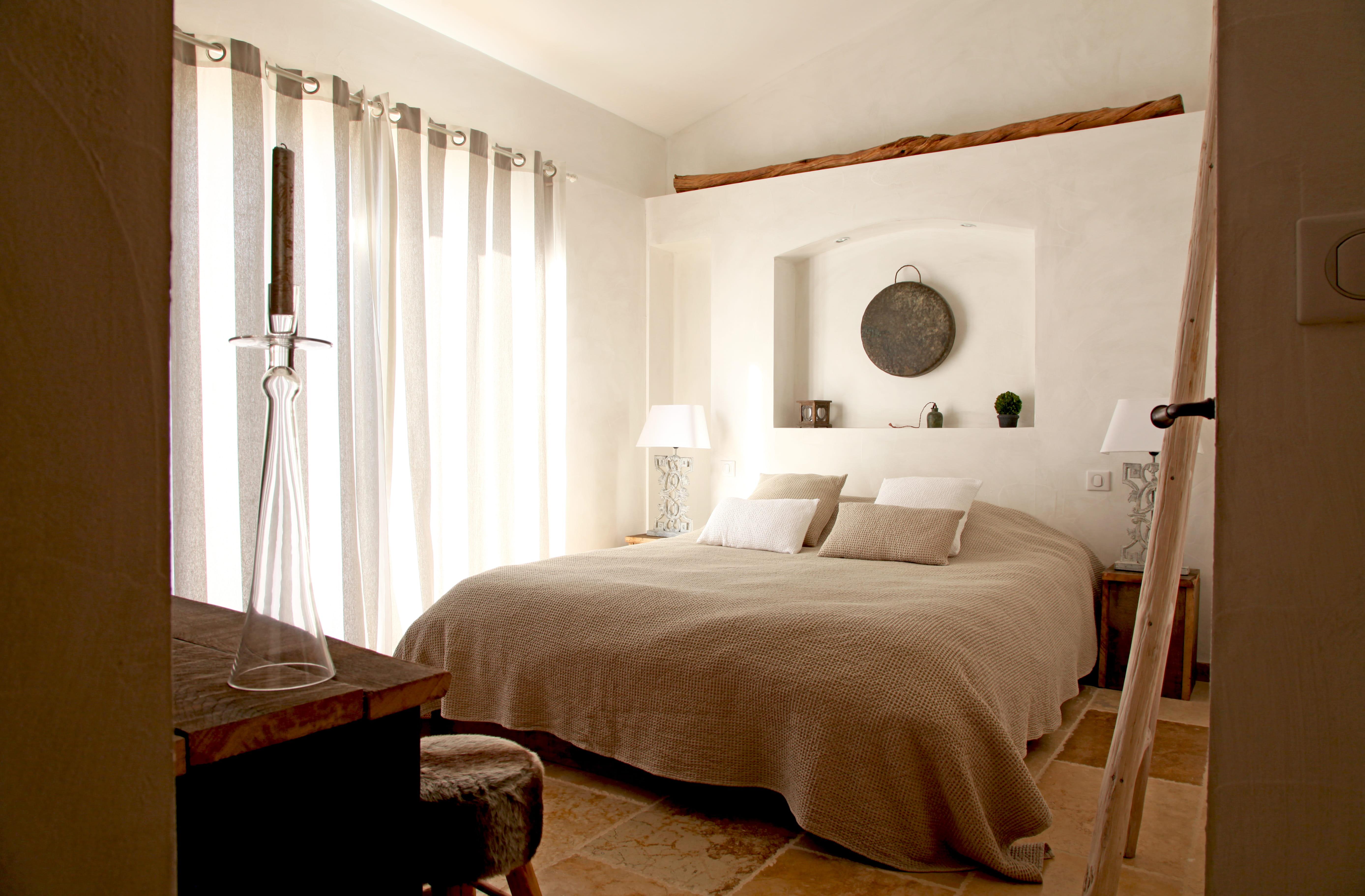 couleur chambre couple feng shui une chambre sobre ficelle la couleur dco tendance - Feng Shui Chambre Couple