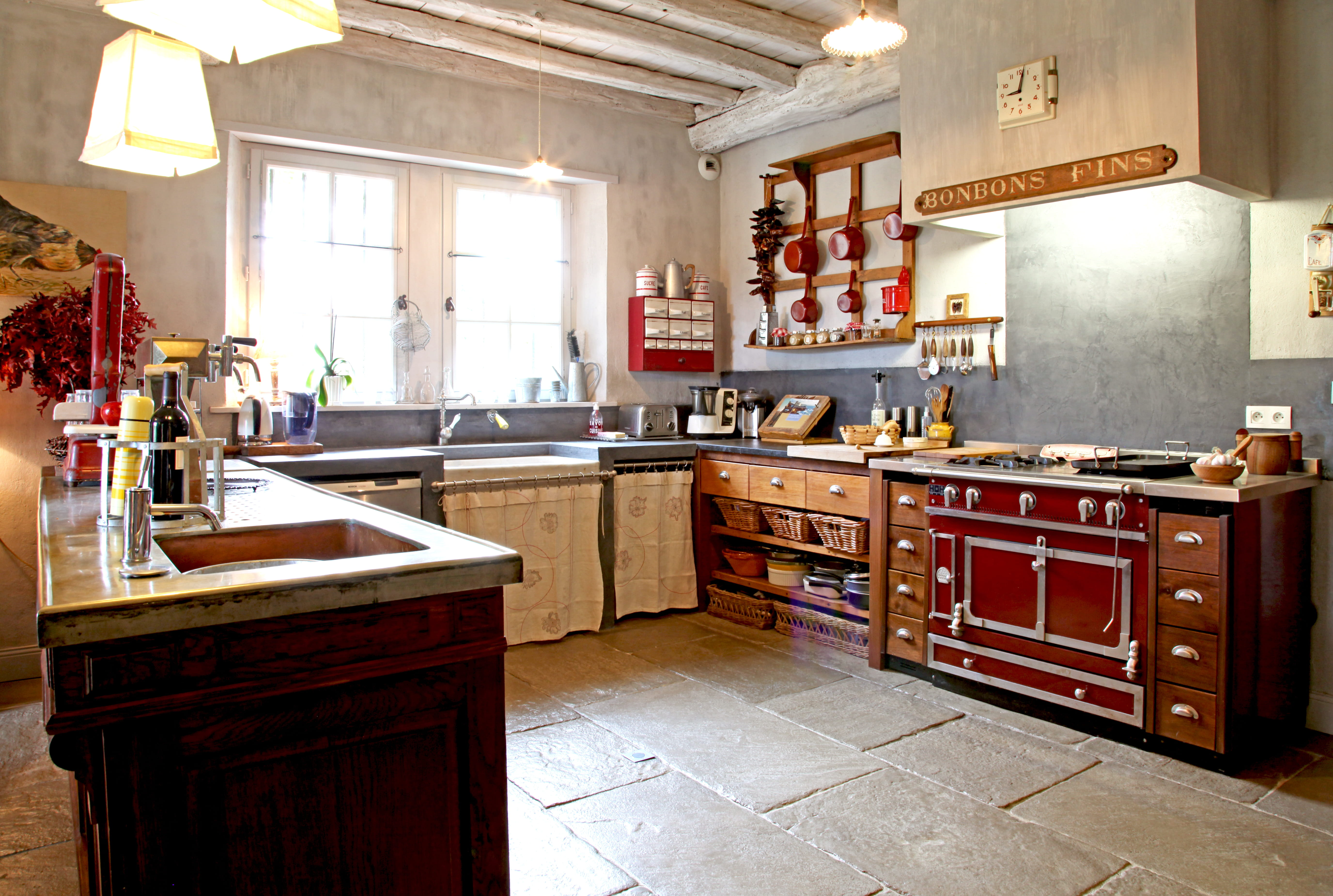 Ophrey.com : Modele Cuisine Campagne Moderne ~ Prélèvement d ...