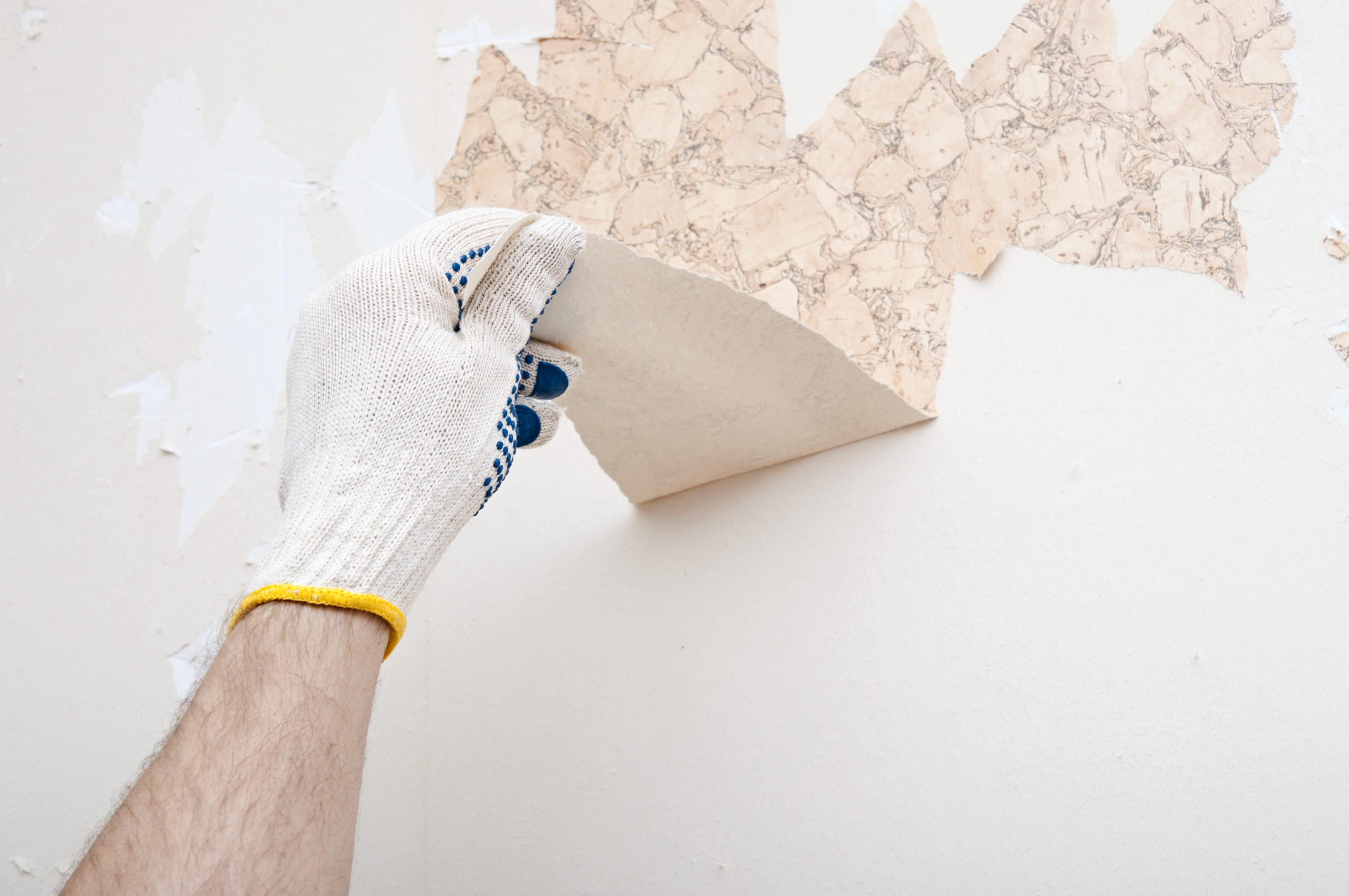 Comment d coller son papier peint journal des femmes - Comment enlever le papier peint du mur ...