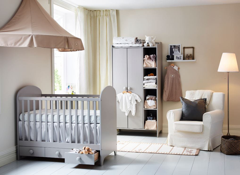 D co chambre bebe fille ikea for Chambre fille ikea