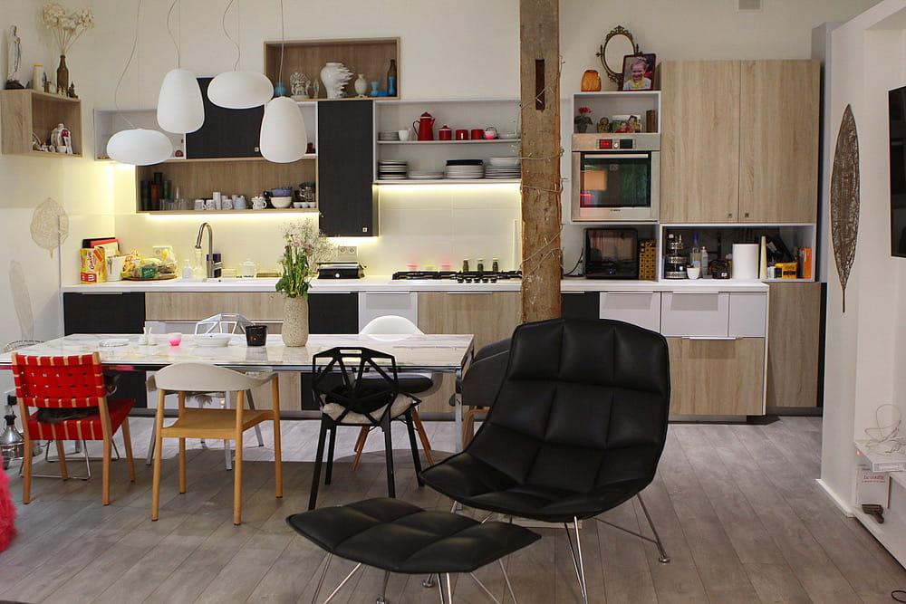 loft parisien le loft design d 39 une d co addict journal. Black Bedroom Furniture Sets. Home Design Ideas