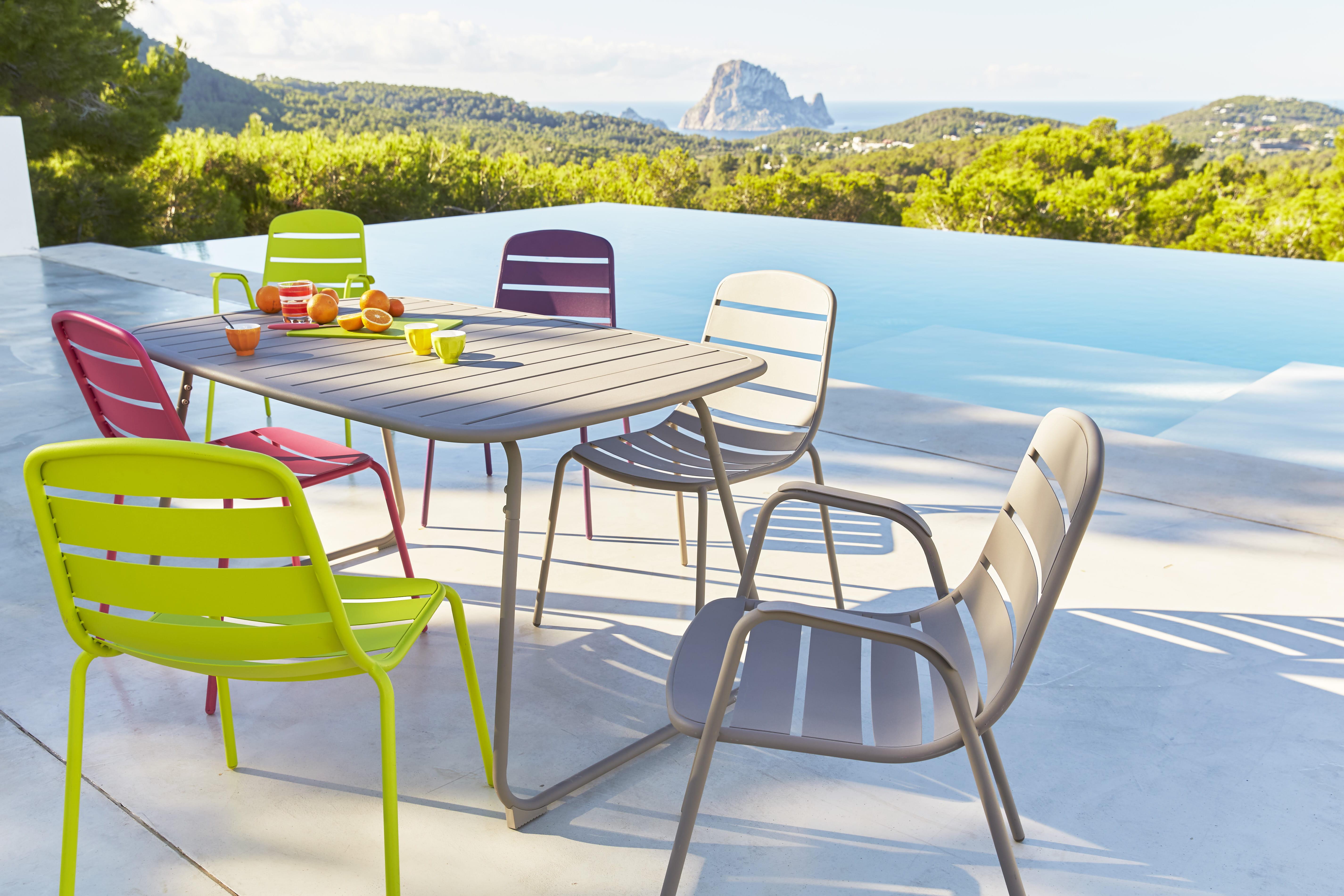 Stunning Salon De Jardin Aluminium Carrefour Photos - Amazing ...