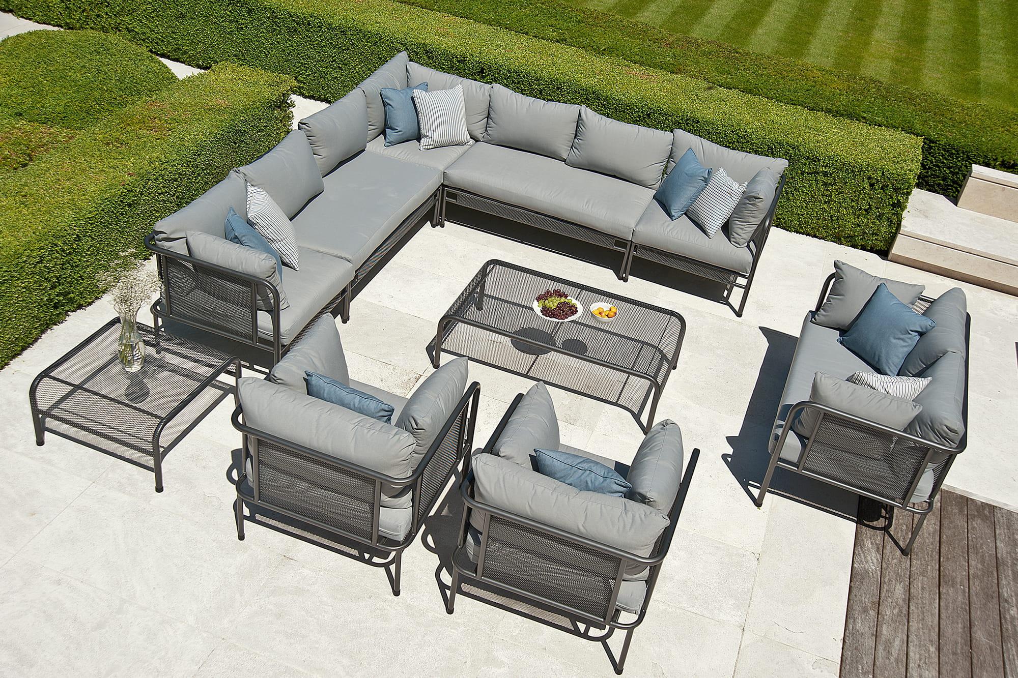 salon de jardin portofino chez alexander rose. Black Bedroom Furniture Sets. Home Design Ideas