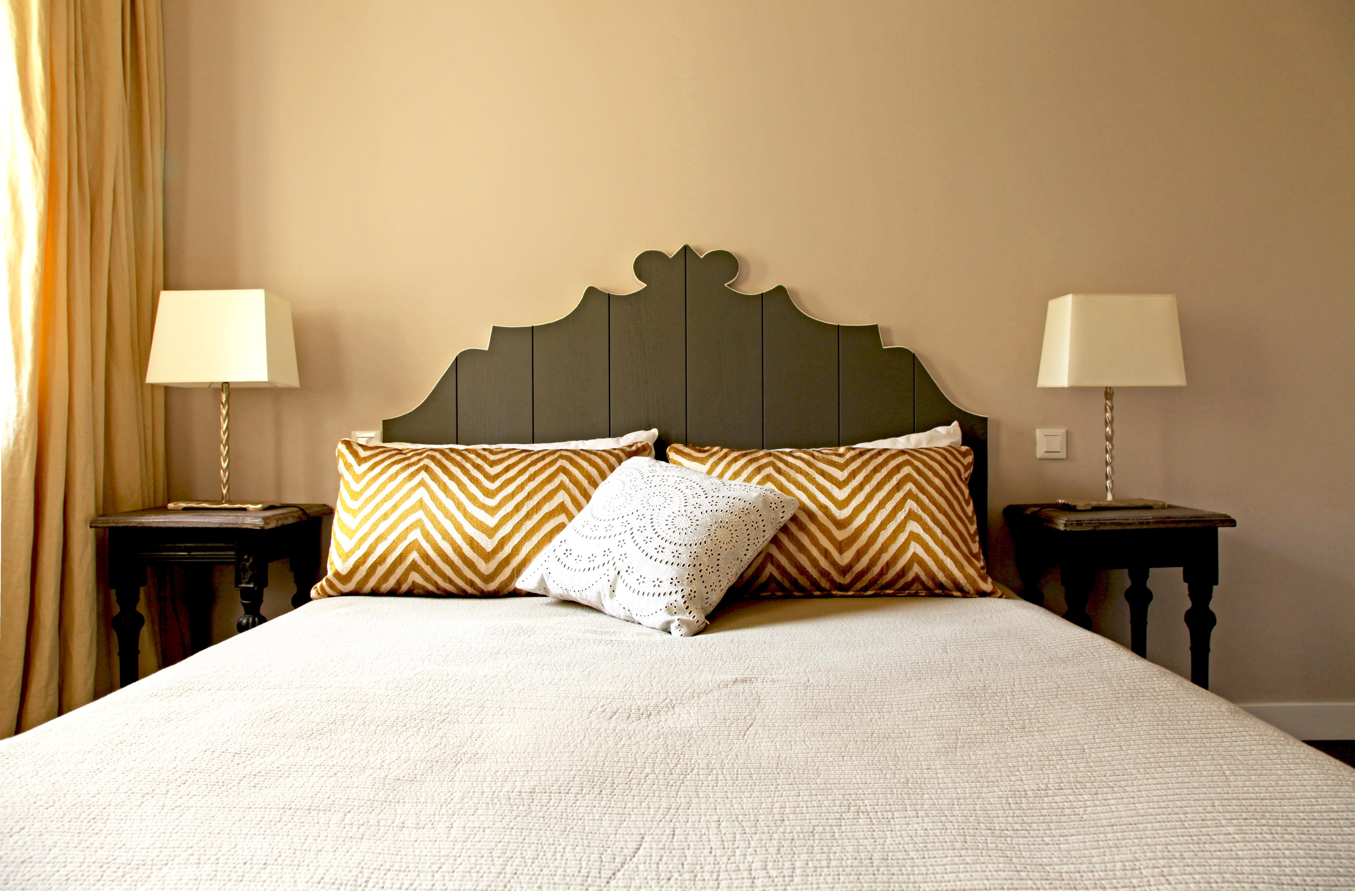 Une tête de lit rustique chic