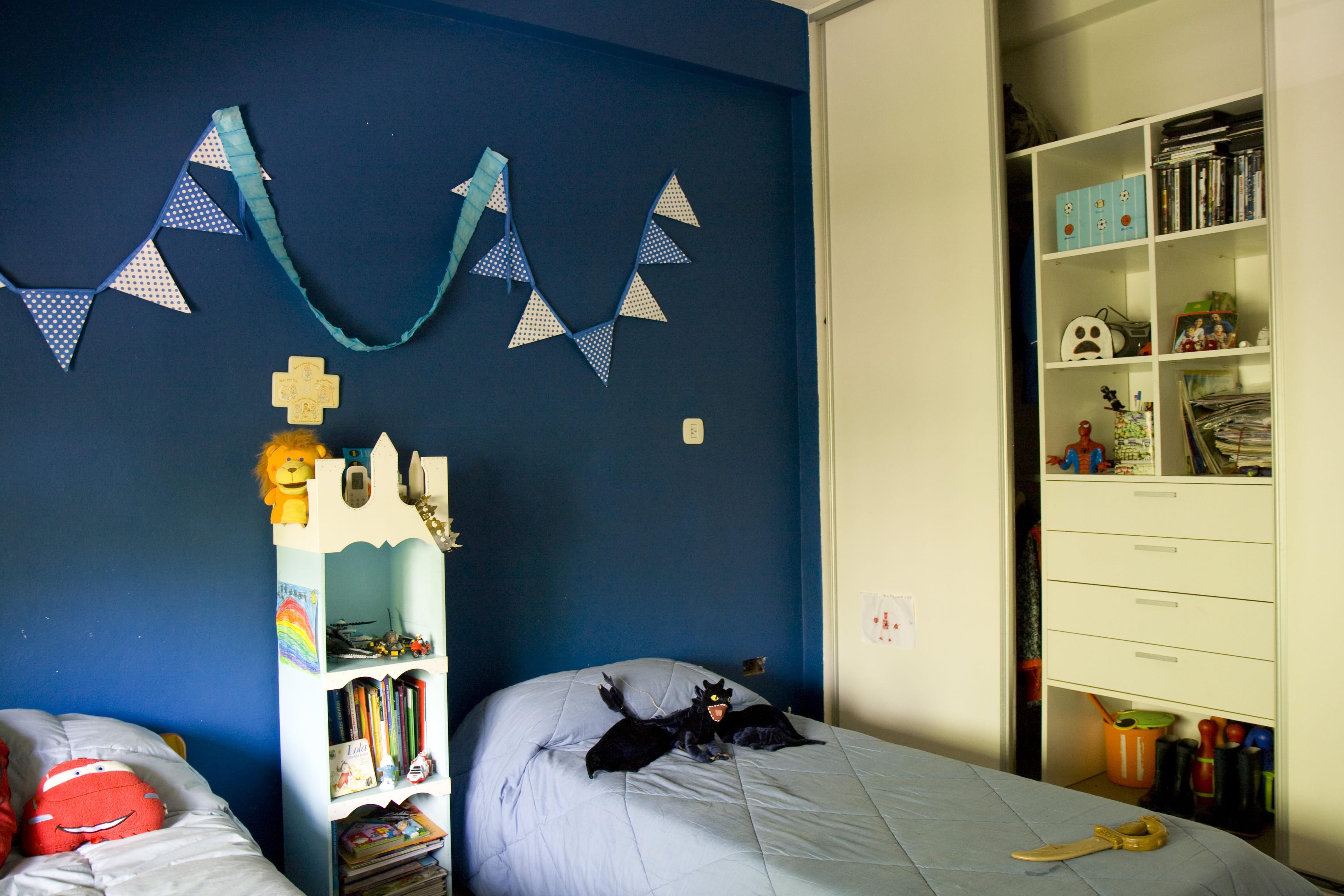 Davaus = Chambre De Garcon Gris Bleu Avec des idées