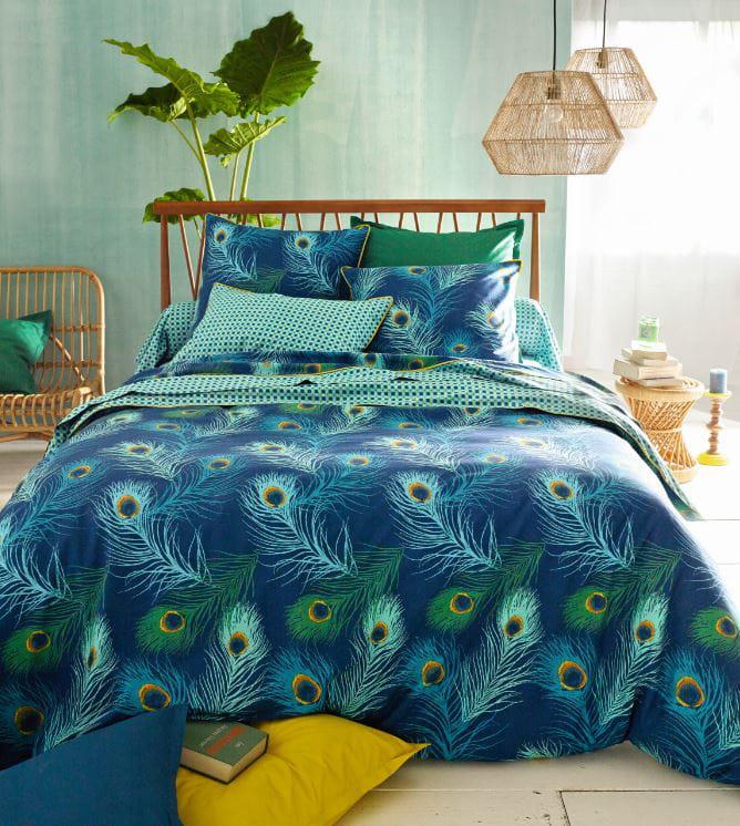 linge de lit shakhra par la redoute interieurs. Black Bedroom Furniture Sets. Home Design Ideas