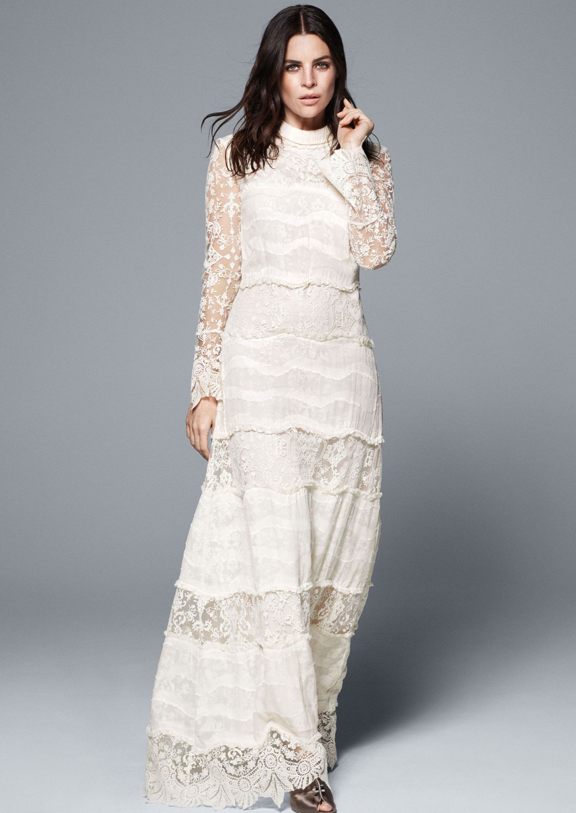 Julia restoin roitfeld g rie des robes de mari e h m - H m ancienne collection ...