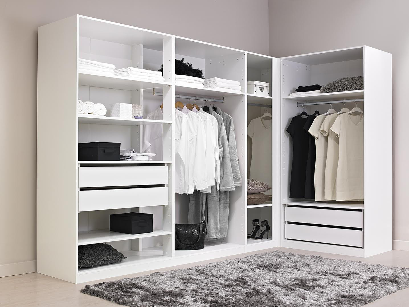 Amenagement Dressing Angle : dressing d 39 angle alin a comment am nager un dressing d ~ Premium-room.com Idées de Décoration