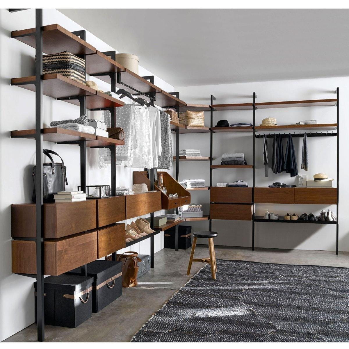 dressing d 39 angle am pm comment am nager un dressing d. Black Bedroom Furniture Sets. Home Design Ideas