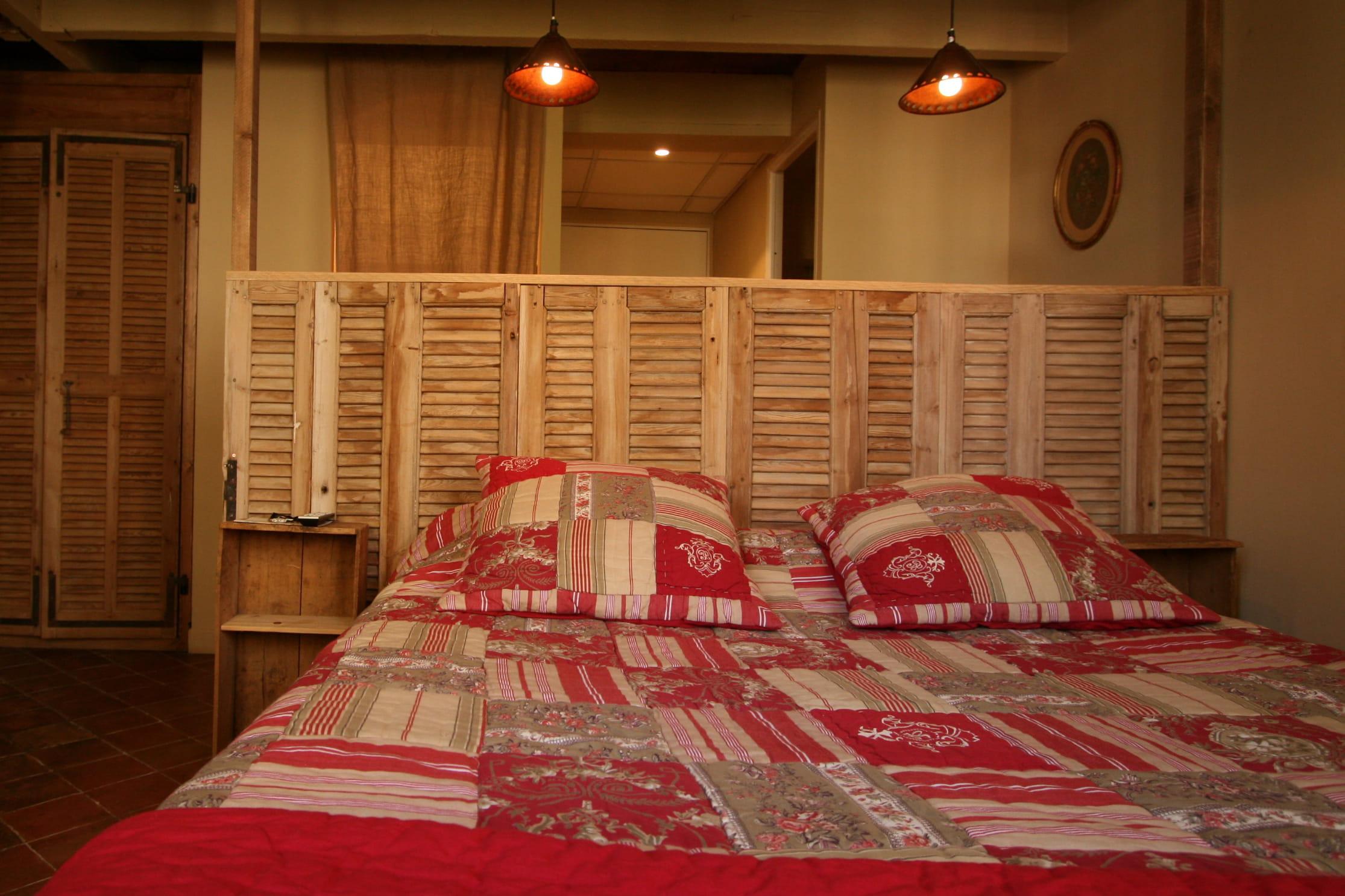 une cloison en persienne cloison mi hauteur quels sont ses avantages journal des femmes. Black Bedroom Furniture Sets. Home Design Ideas