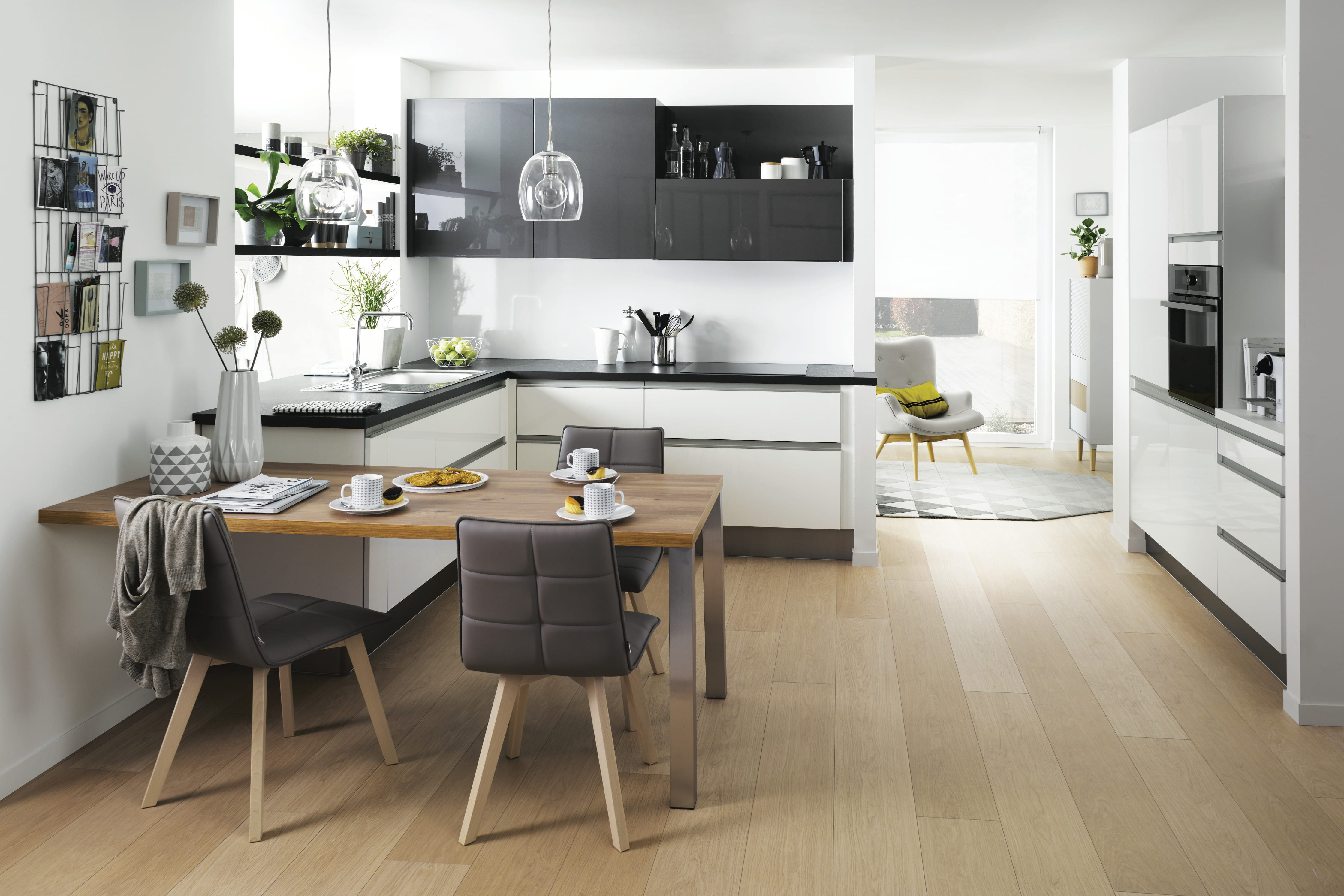 Deco Salon Moderne Design : La cuisine Cuisinella en 10 modèles  Journal des Femmes