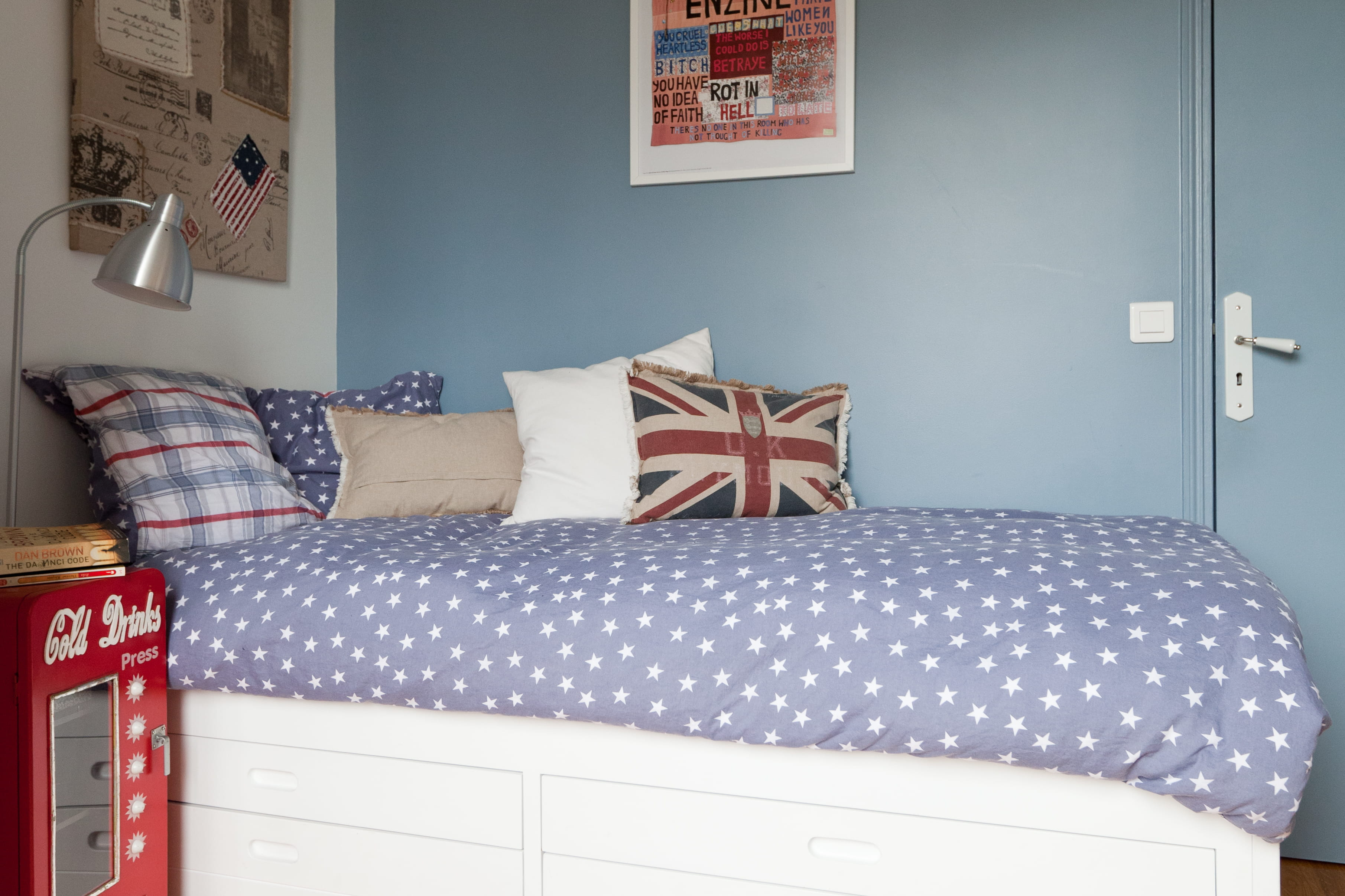 Idee deco chambre ado fille pas cher - Idees couleur chambre ...