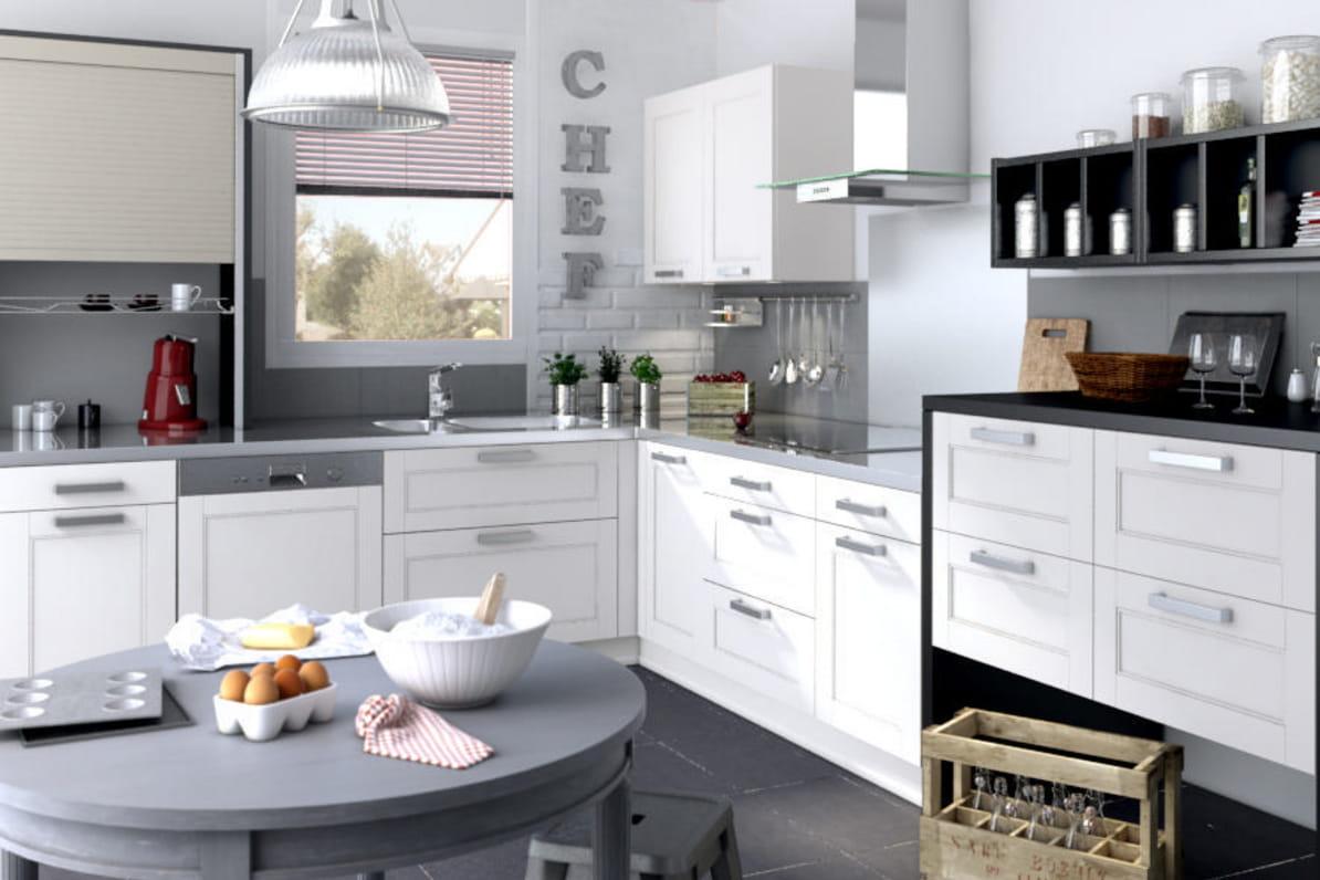 Cuisine fjord de lapeyre la cuisine lapeyre en 10 mod les journal des femmes - Lapeyre cuisine carat ...