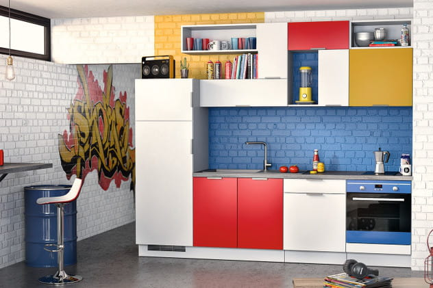 cuisine mezzo graffiti de socoo 39 c la cuisine socoo 39 c en. Black Bedroom Furniture Sets. Home Design Ideas