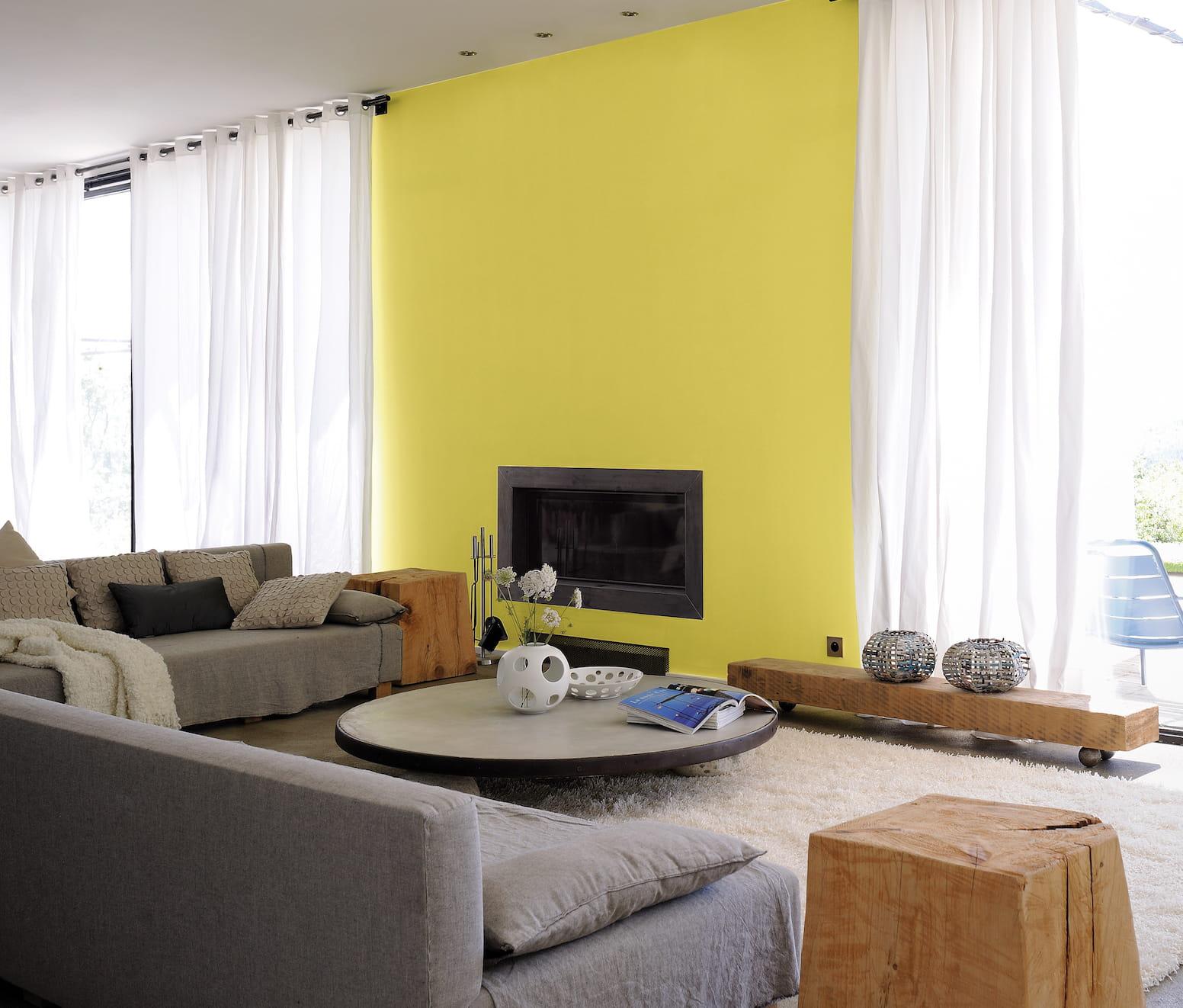 Couleur peinture salon lumineux couleur peinture salon - Salon lumineux ...
