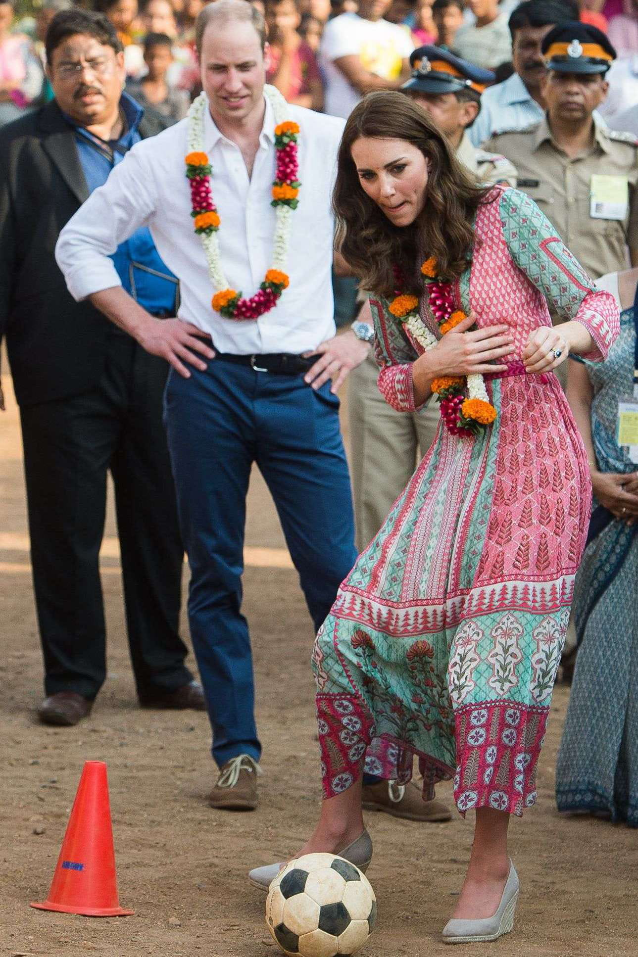 Kate et william s clatent en inde for Dujardin inde