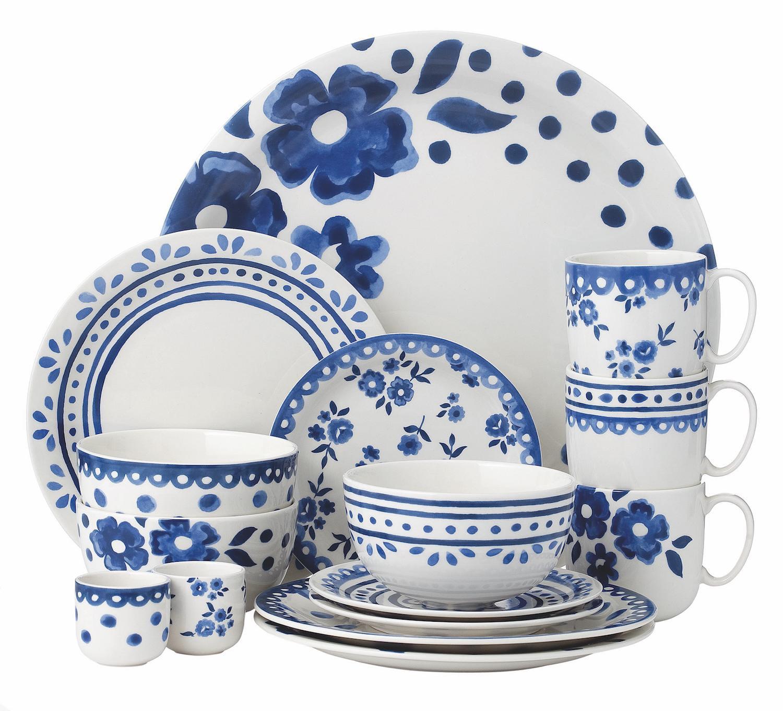 La vaisselle delft blue prend un coup de jeune - Galeries lafayette vaisselle ...