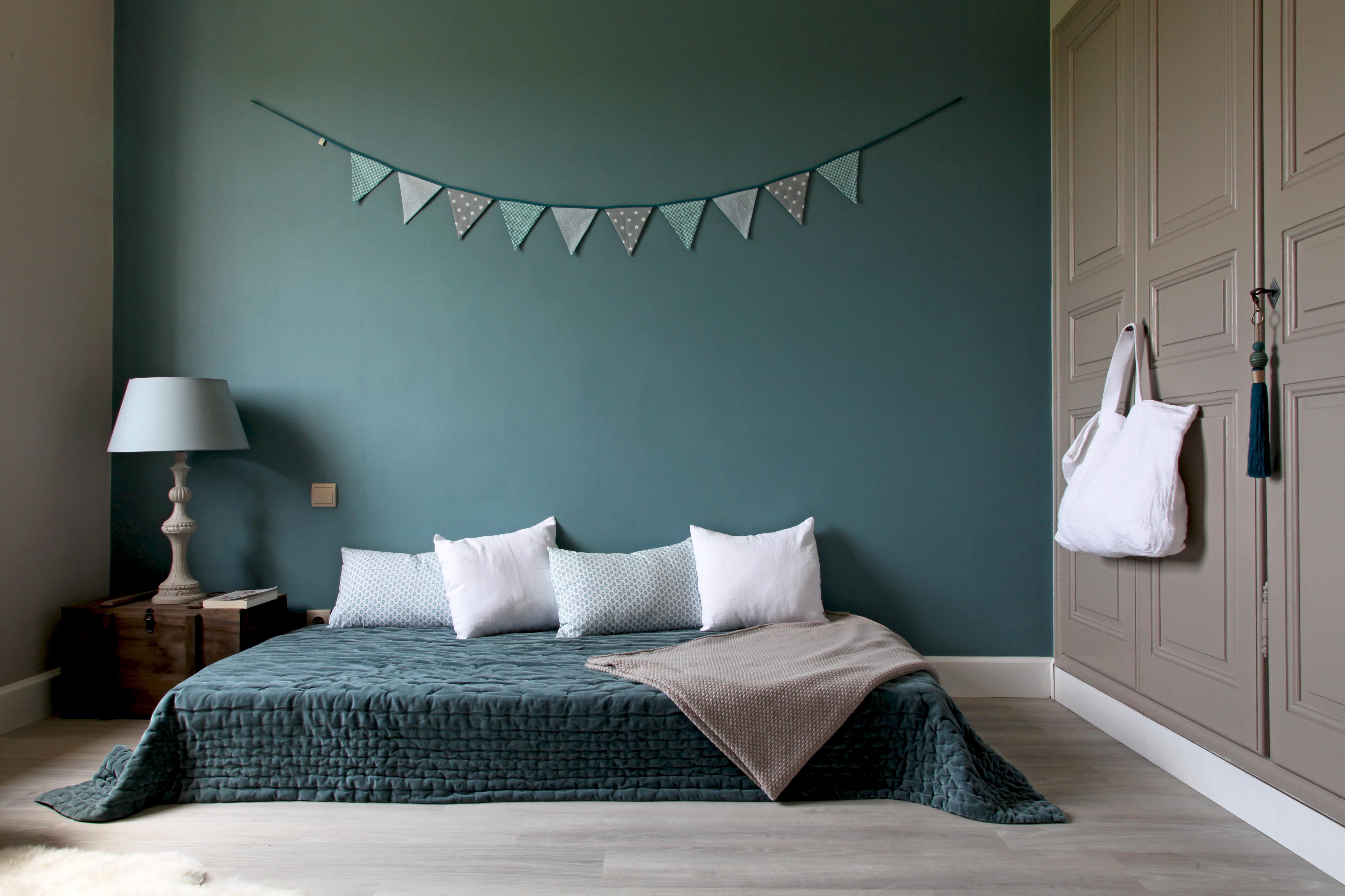 Chambre bleu klein ~ Design de maison