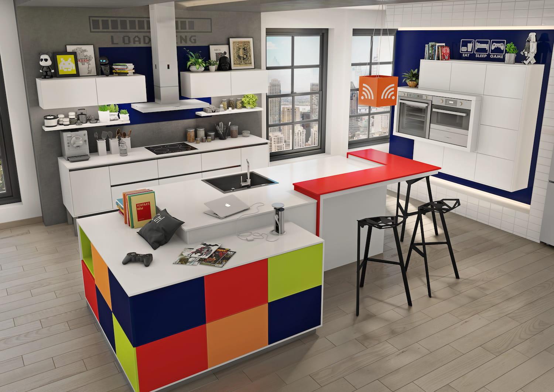 L 39 lot de cuisine pop 15 nouveaux lots rep r s chez les for Ilot cuisine original