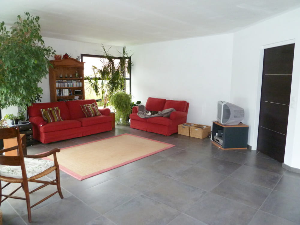 Le relooking d 39 un s jour dans un style atelier for Deco sejour atelier