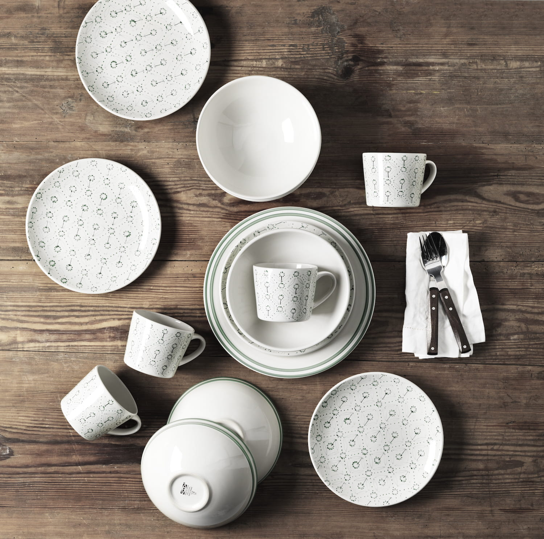 Vaisselle style scandinave for Ikea vaisselle de table