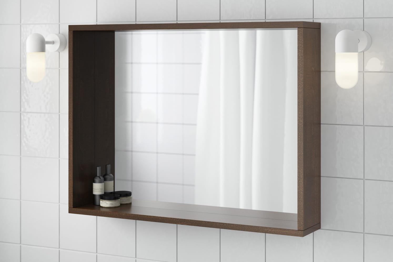 Comment clairer la salle de bains journal des femmes for Eclairer une salle de bain sans fenetre