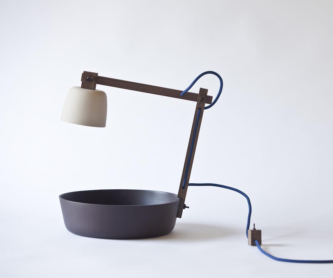 La lampe de chevet avec vide poche for La lampe de chevet