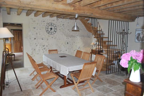 La salle manger tradition et modernit dans une ancienne ferme journal - Deco salle a manger ancienne ...