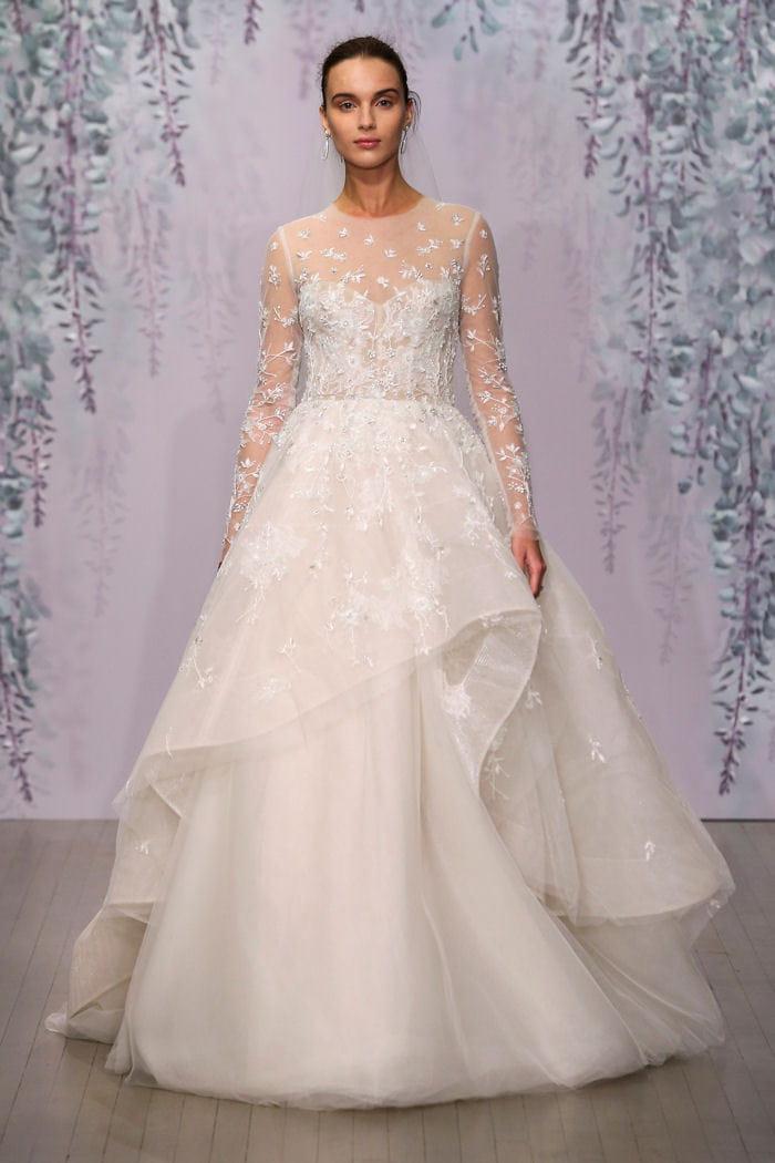 Robe de mari e monique lhuillier les plus belles robes for Monique lhuillier robes de mariage