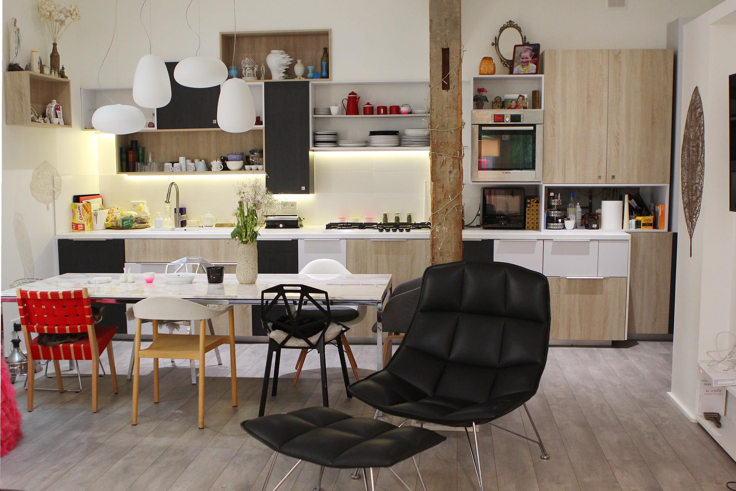 Cuisine Couleur Gris Ardoise: Id%C%Ae d%C%Aco cuisine. Peinture ...