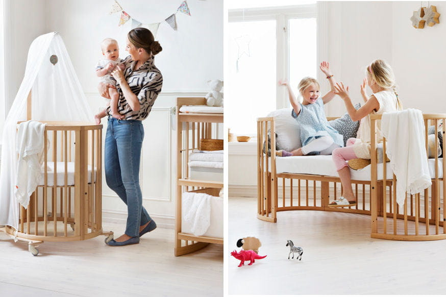 lit volutif sleepi stokke lit chaise haute si ge auto choisissez les volutifs. Black Bedroom Furniture Sets. Home Design Ideas