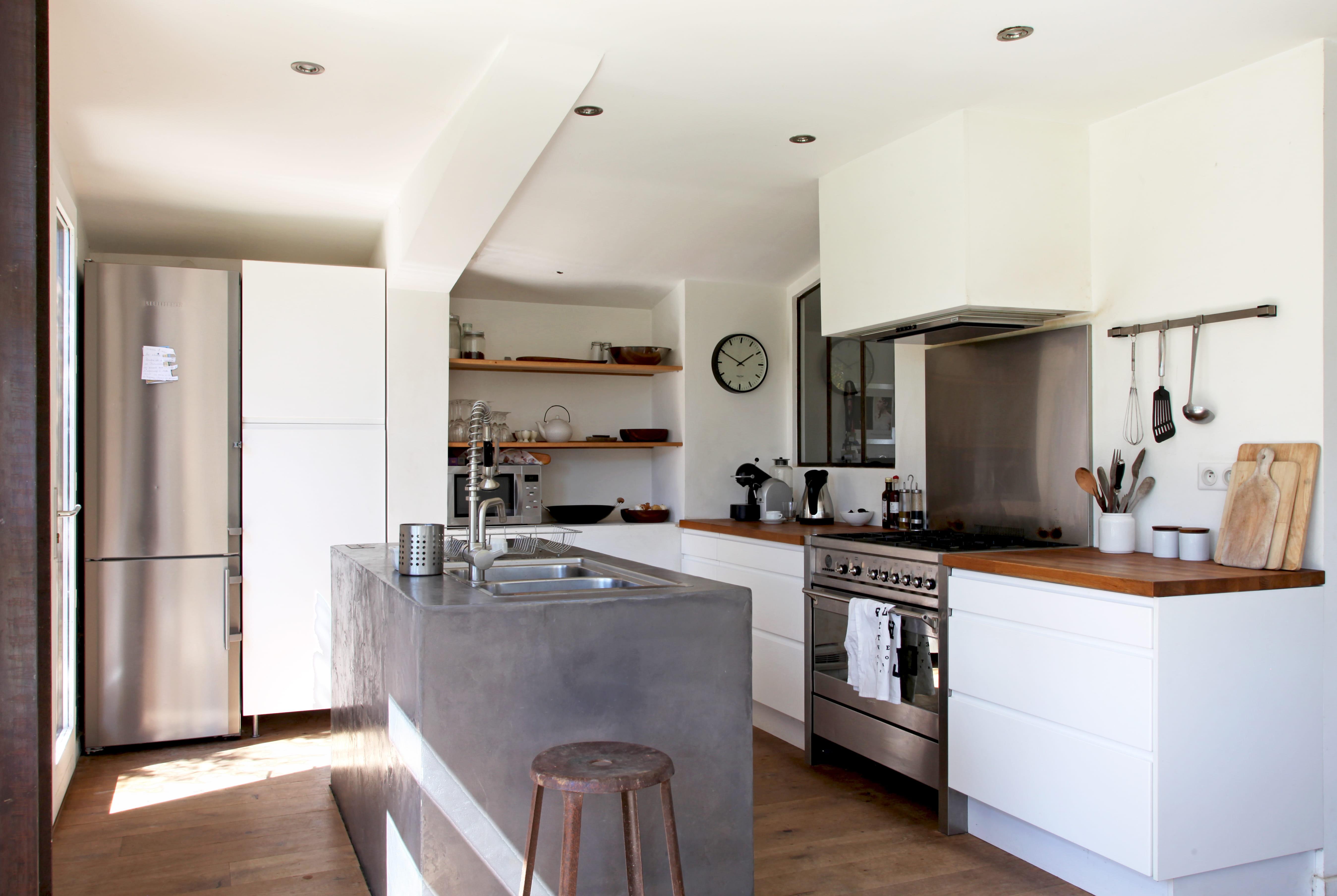 Cuisine effet industriel: idees deco pour une cuisine industrielle ...