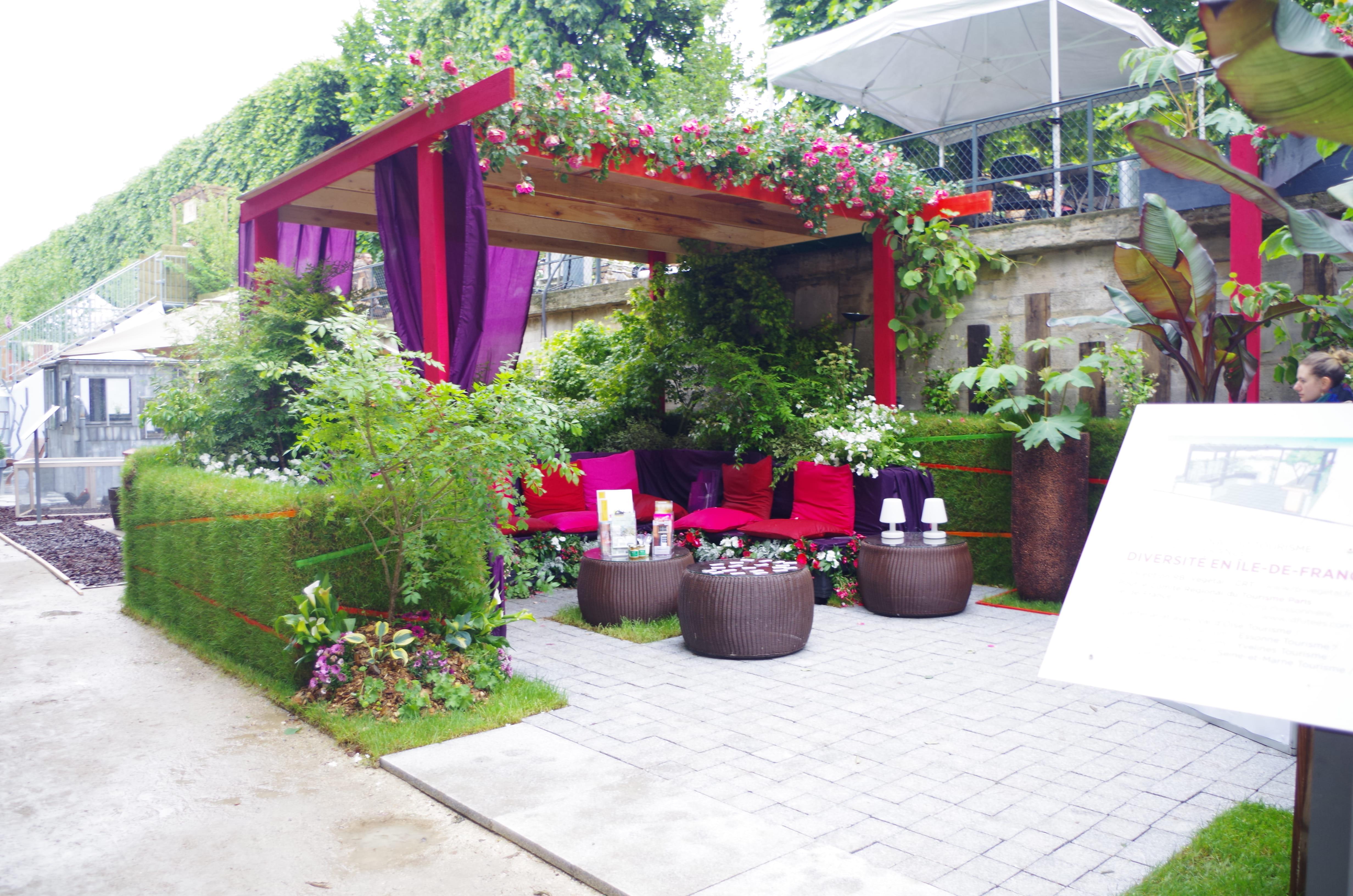 Table De Jardin Resine Et Aluminium : salon de jardin rose et violet  Jardins, jardin 2016  nos coups de