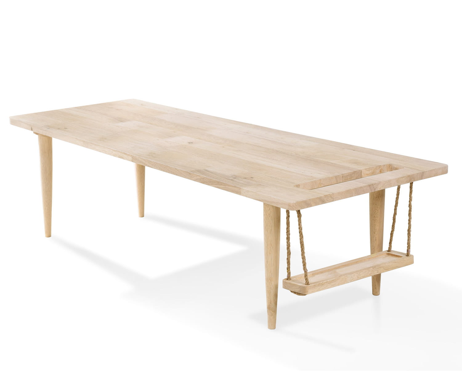 Une table basse originale for Table basse avec une palette