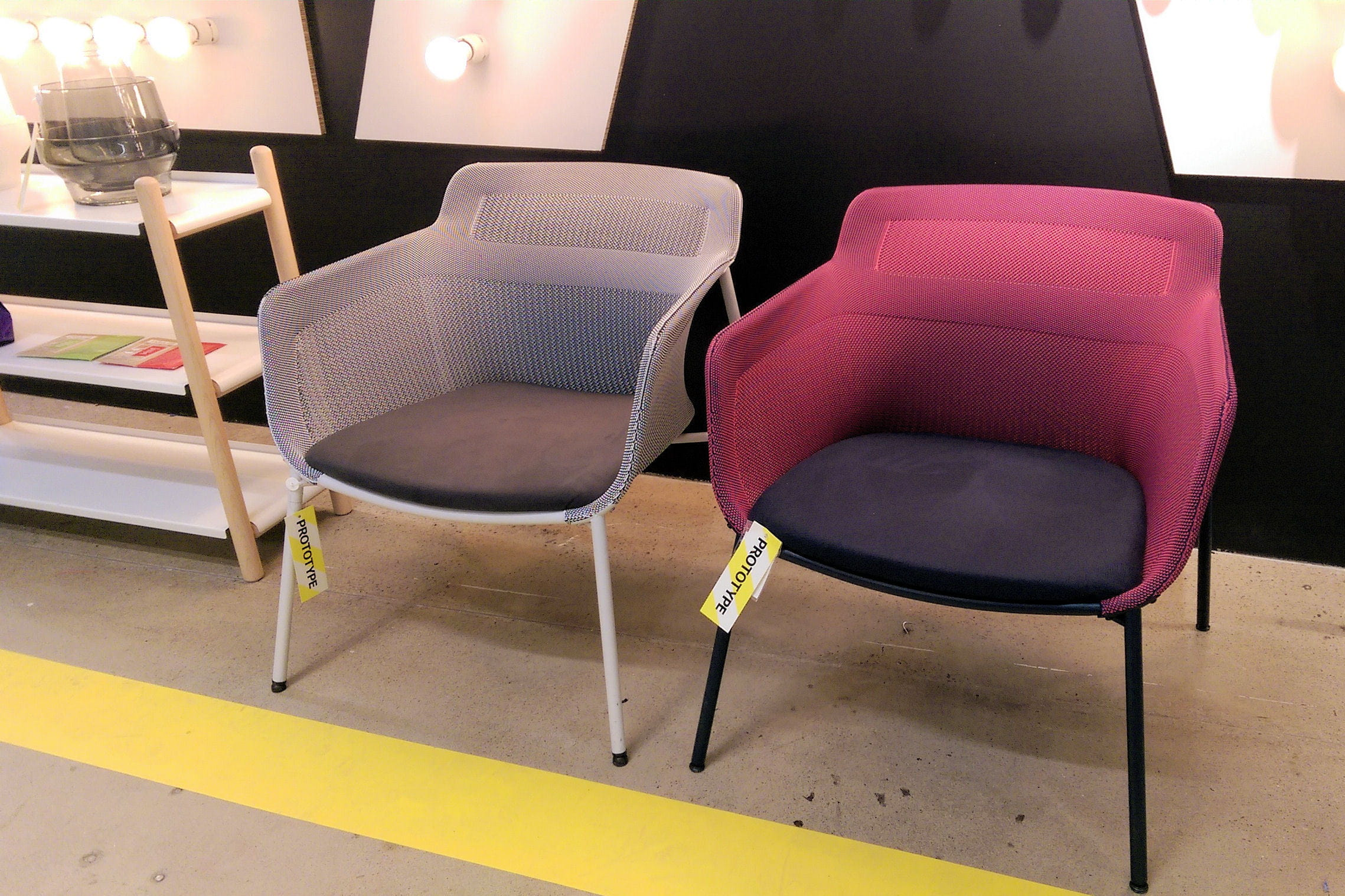 fauteuils ikea ps 2017 en tissage 3d. Black Bedroom Furniture Sets. Home Design Ideas
