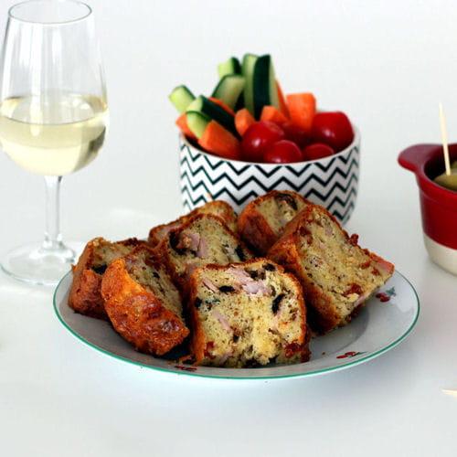 Cake Au Olives Noires Et Jambon