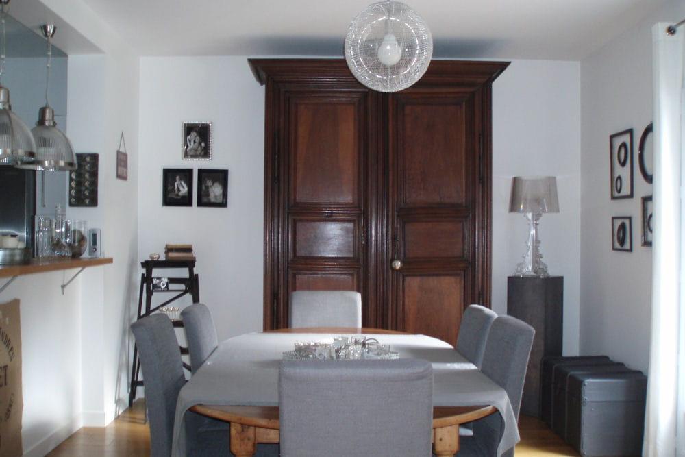la salle manger visitez la maison de florence journal des femmes. Black Bedroom Furniture Sets. Home Design Ideas
