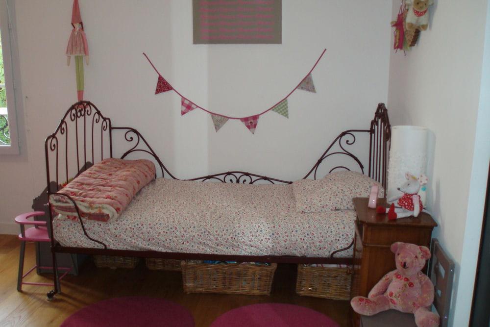 La chambre rose - Chambre fille vieux rose ...