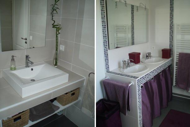 La salle de bains et de douche visitez la maison de florence journal des femmes - Decoration douche maison ...