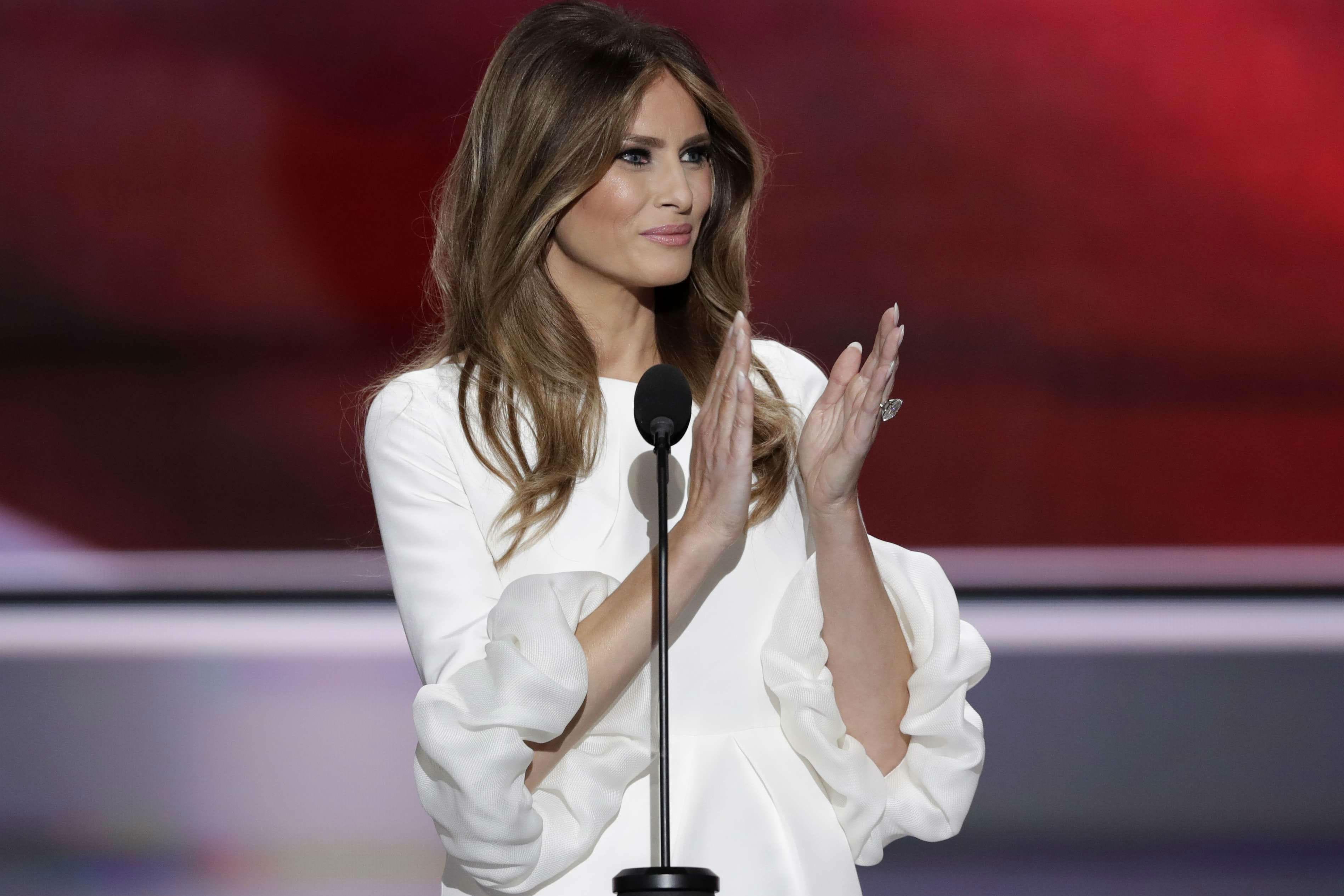 Donald Trump : qui est sa femme Melania ? - Journal des Femmes