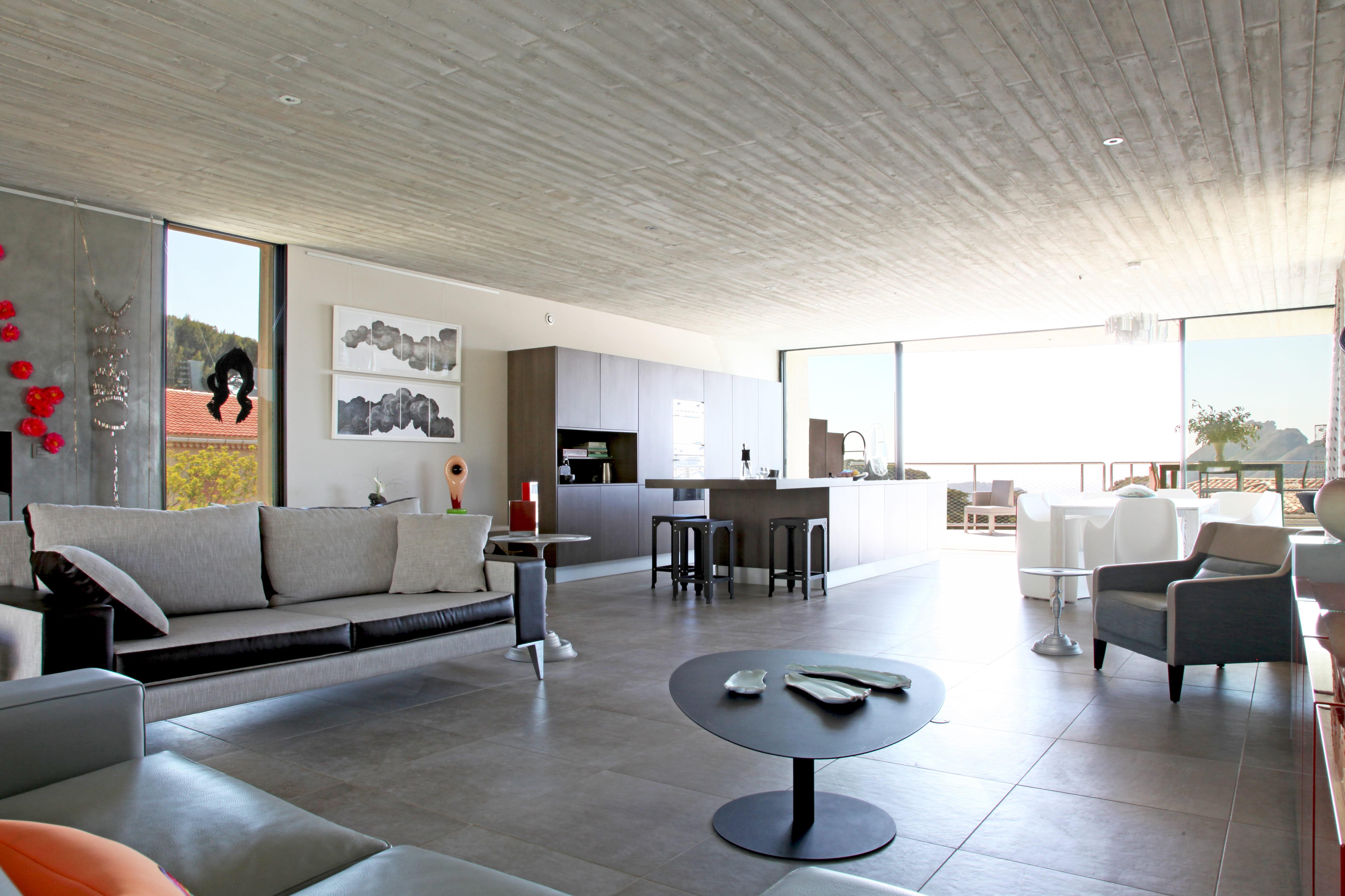 #734134 Pièce à Vivre De Style Contemporain : Donner Un Style  4959 piece a vivre 50m2 5616x3744 px @ aertt.com