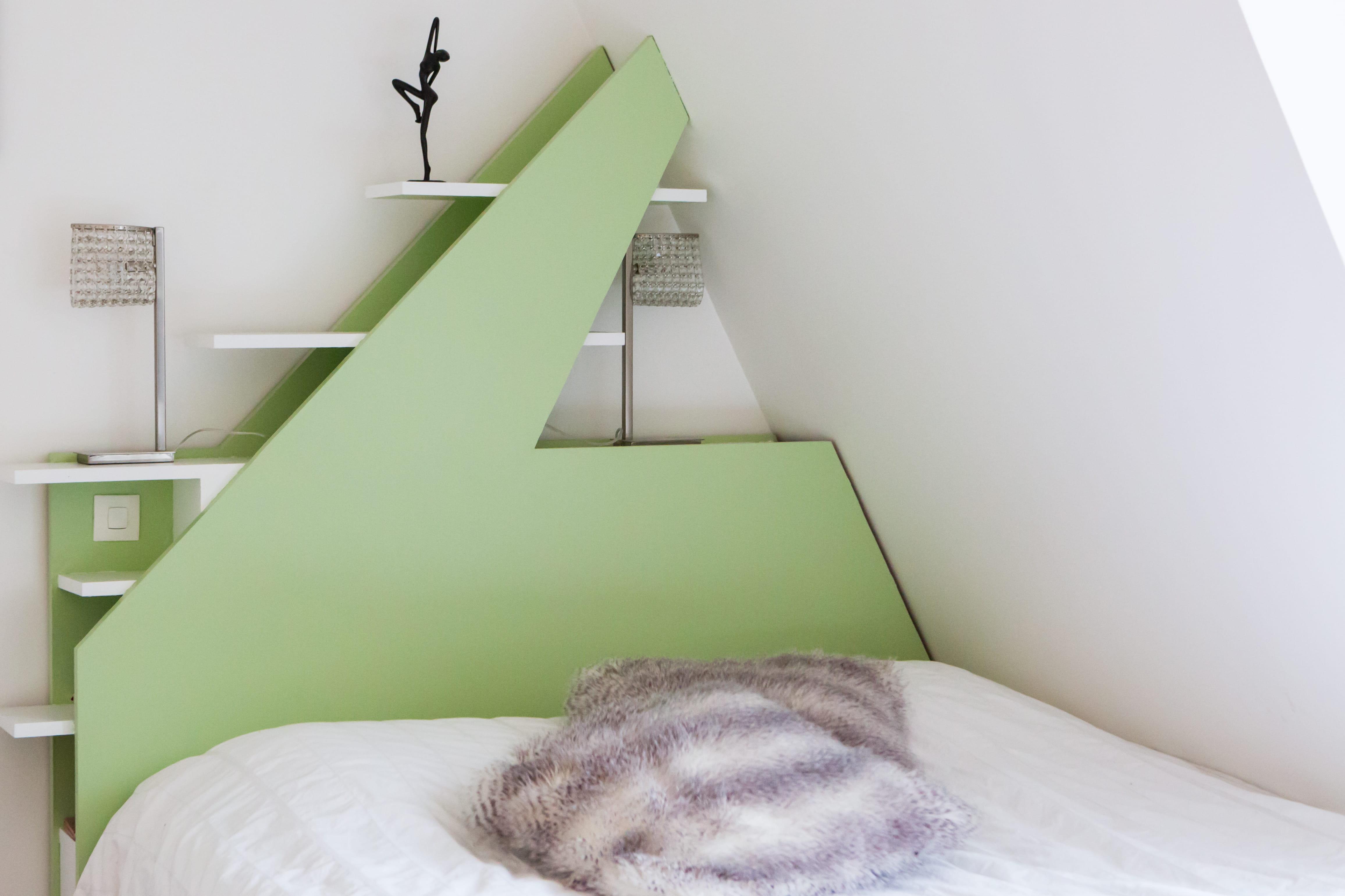 Une chambre aux couleurs pastel pour des nuits plus - Choisir les couleurs d une chambre ...