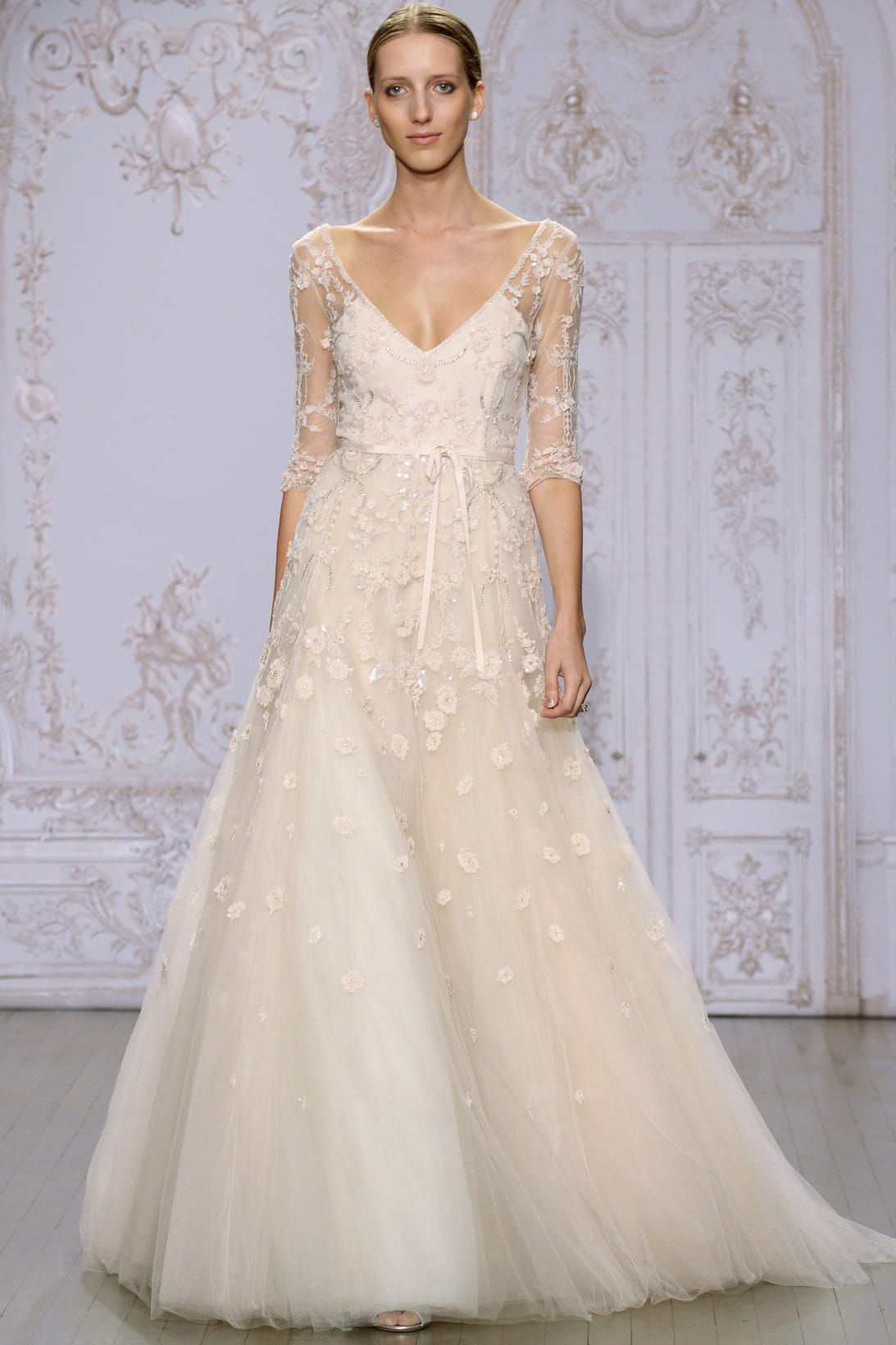 robe de mari e monique lhuillier ForMonique Lhuillier Robes De Mariage